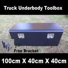 Premium Quality Steel Underbody Truck Pickup Ute Trailer Toolbox 100cm 40cm 40cm