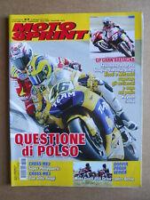 MOTOSPRINT n°27  2006     [Q30]  TEST MOTO GUZZI 850 GRISO CONTRO BREVA