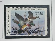 F923 Nc 1984 Wood Duck, Signed By Artist Jim Killen Stamp
