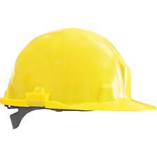 Helm Bauhelm Bauarbeiterhelm Schutzhelm Arbeitshelm Gelb NEU TOP Gr. 53-61 EN397