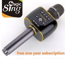 Magic Sing Karaoke Mic Speaker English Korean Hindi Filipino Spanish Vietnamese