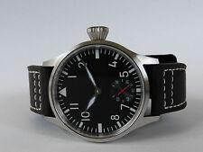 Montre pilote SAPHIR FLIEGER B-Uhr Mécanique Type Unitas 6498 Superluminova V2