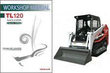 Takeuchi TL120 Loader Service Repair Workshop Manual CD -  TL 120