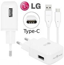 Adaptateur Chargeur d'Origine LG MCS-H05ED Charge Rapide + USB-C pour LG G6+