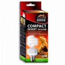 Compact desert 10.0 UVB Terrarienbeleuchtung Energiesparlampe E27
