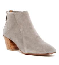 Aquatalia Farrow Women's Grey Perforated Bootie Sz 10 2809 *