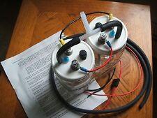 Custom Dual HHO Hydrogen Generator Wet Cell & Install Kit