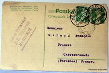 SUISSE  HELVETIA entier postal carte lettre Postale   CA13