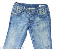 BRAND NEW DIESEL ROKKET 72L JEANS 0072L REGULAR SLIM FIT STRAIGHT LEG BNWT BLUE