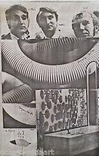 Marc De ROSNY (XXe) Offset de 1968 à 200ex. Ecole de Nice ARMAN KLEIN CESAR