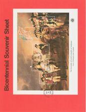 #1686-9 13-31c Bicent. SS USPS #7615-8 4 Souvenir Pages