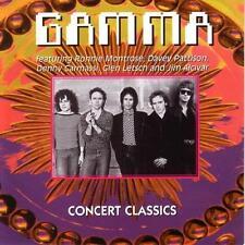 RARE CD GAMMA + RONNIE MONTROSE / CONCERTS CLASSICS
