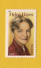 4525 Helen Hayes   2011 MNH SA    Actress Single Forever