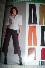 NEW LOOK MISSES SKIRT PANTS SEWING PATTERN 6510 10-22 FROM 2005