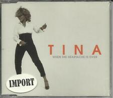TINA TURNER When the heartache is over w/ I can't & Silent LIVE CD Single SEALED