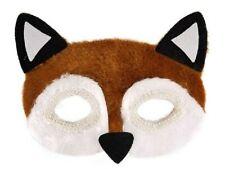Fabric Fox Eye Mask Furry Childrens Adults Fancy Dress Party Prop Animal