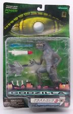 1998 Trendmasters Nuclear Strike Godzilla vs Hornet Jet figure set