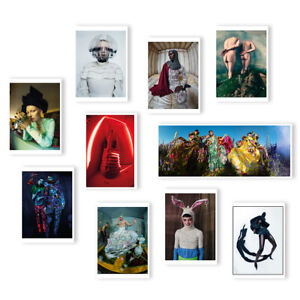 TIM WALKER Wonderful Things V&A Exibition 10 POSTCARD COLLECTION / SET @NEW@