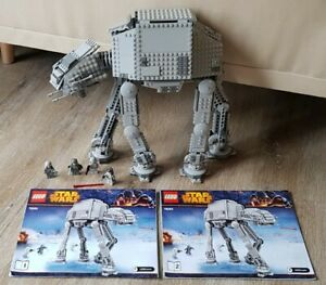 LEGO Star-Wars AT-AT(75054)☆mit 4 Figuren+Zubehör+2 Anleitungen☆Original Vintage