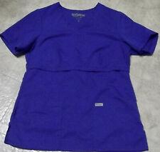 Grey's Anatomy Royal Blue Scrub top -Med
