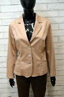 Giacca Donna TRUSSARDI Taglia Size L Maglia Blazer Jacket Woman Cotone Elastica