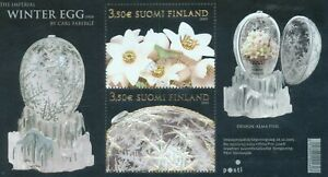 Finland 2005 Faberge Egg lightly used miniature sheet
