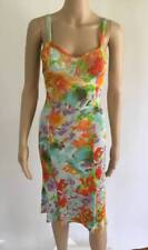 VERSACE SEXY BUSTIER FLORAL PRINT OPEN BACK DRESS SIZE IT 40