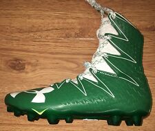 NEW Under Armour Highlight MC Green White Football Cleats Men's Size 9