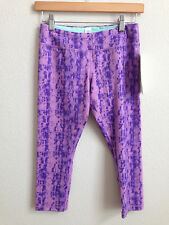 Girls Ivivva by Lululemon Rhythmic Crop Purple size 14 NWT