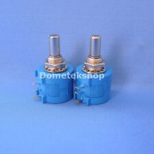 Bourns 3590S-2-103L Precision potentiometer (New, Lot of 2)