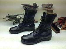 MADE IN USA DISTRESSED VTG 1975 MILITARY MOTORCYCLE PARATROOPER BOOTS SIZE 9.5 W
