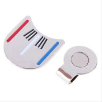FJ- Metal Magnetic Hat Clip Golf Ball Marker Alignment Putting Aiming Tool Acces
