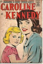"""1961 """"America's First Young Lady - Caroline Kennedy"""" Comic Book by Charlton"""
