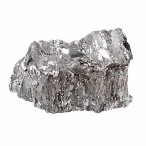99.99% Bismuth Solid Particles Metal Bi High Purity Pure Bismuth Ingot 100g
