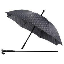 Regenschirm m. Gehstock zum Wandern an Himmelfahrt