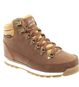 The North Face Back To Berkeley Redux Boots Dijon Brown Leather  Waterproof 12
