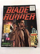 Blade Runner Big Box Pc Game Windows 95 CD Rom