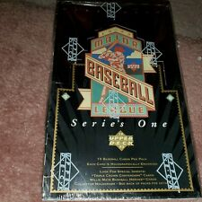 1993 UPPER DECK BASEBALL CARD BOX SERIES ONE POSSIBLE ROOKIES INSERTS