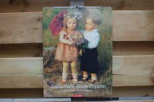 Kathe Kruse Dolls Zauberhafte Kruse Puppen Calendar 1996 New from 1883 til 1968