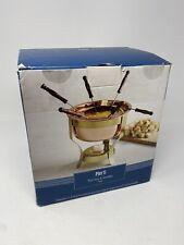 Pier 1 Copper Fondue Pot Brand New In Box