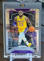 LeBron James 2019-20 Panini Prizm Basketball #129 Lakers NBA MVP PSA / BGS Ready