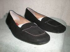 New Cole Haan Made in Italy 7.5B 7.5 M B shoes women's black loafers flats 7.5M