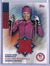 Kikkan Randall 2014 Topps Winter Olympics Memorabilia Relic #OR-KR Nordic Skiing