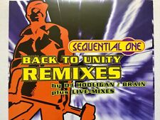 Maxi-CD - SEQUENTIAL ONE - BACK TO UNITY REMIXES -  6 Tracks - 1994