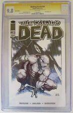 Walking Dead #109 CGC Graded 9.8 Ace Continuado Sketch TMNT Image Comics 4/13