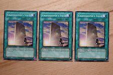 3 x Gravekeeper's Stele ABPF-EN056 (Playset) Common Yugioh Card
