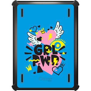 OtterBox Defender for iPad Pro / Air / Mini - GRL PWR - Pink, Blue, Yellow