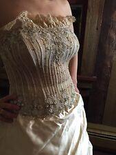 WowCustom Atelier Aimee Italian Wedding Gown Swarovski crystal,Italian lace,silk
