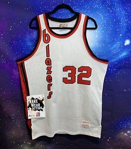 Portland Trail Blazers Mitchell /& Ness Hommes Réversible Nba Drexler Jersey-Neuf