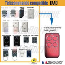 Télécommande portail compatible FAAC ROLLING CODE DL TML XT2 XT4  RCBE RC SLH